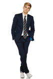 Young man in suit Stock Photos