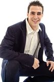 Young man in suite Royalty Free Stock Photography