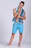 Young man summer Royalty Free Stock Photo
