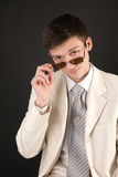 Young man in  sunglasses Royalty Free Stock Photography
