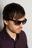 Young man in sunglasses Royalty Free Stock Image