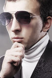 Young man in sunglasses. Stock Image