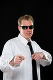 Young Man in Sunglasses Royalty Free Stock Images