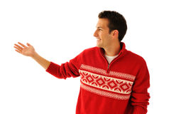 Young man in sweater Royalty Free Stock Photos