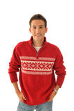 Young man in sweater Royalty Free Stock Photography