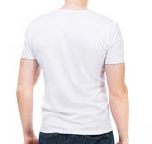 Young man in t-shirt Royalty Free Stock Images