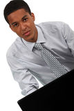 Young man with tie Stock Photo