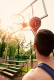 Free Throw royalty free stock images