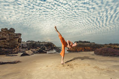 Free Young Man Training Martial Arts Stock Photo - 37400730