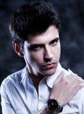 Young Man A trendy European man Stock Photos