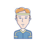 Young man vector avatar Stock Image