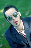 Young Man Wearing Sunglasses Royalty Free Stock Photos