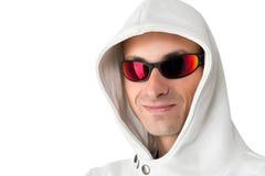 Young Man Wearing Sunglasses Stock Photos