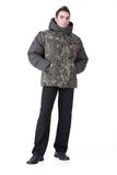 Young Man In Winter Clothing Stock Photography