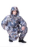 Young Man In Winter Clothing Royalty Free Stock Image