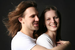 Young Man and woman Stock Image