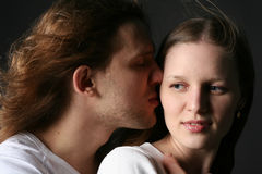 Young Man and woman Royalty Free Stock Photography