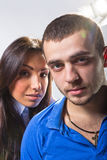 The young man and the woman Royalty Free Stock Photography
