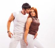 Young man and woman Stock Photography