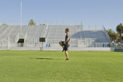 Young Man Working Out Stock Photography