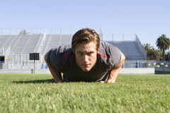 Young Man Working Out Royalty Free Stock Photography
