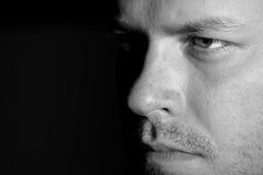 Young man's eye close up Stock Image