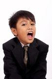 Young man yawning Stock Photography
