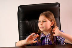 Young manager Royalty Free Stock Photo