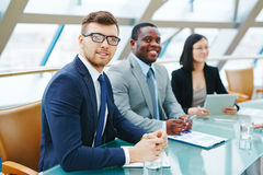 Young manager Stock Photography