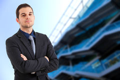 Young manager portrait Stock Photos
