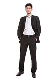 Young manager standing in suit Stock Photography