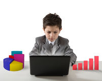 Young manager royalty free stock photography
