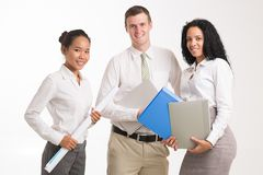 Young managers Royalty Free Stock Images