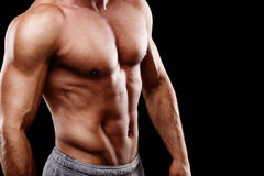 Young mans torso Stock Photos