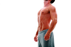 Young mans torso Royalty Free Stock Images