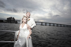 Young married couple Royalty Free Stock Images