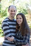 Young Married Couple Royalty Free Stock Photography