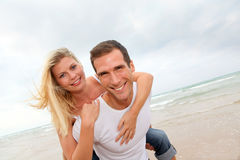 Young married couple Royalty Free Stock Photos
