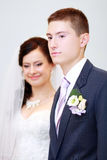 Young married couple Stock Image