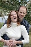 Young Married Couple Having Fun Stock Photos