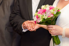 Young married couple Stock Photos