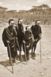 Young Masai men Royalty Free Stock Photo