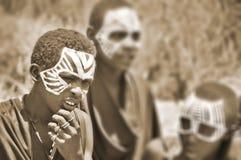 Young Masai men Royalty Free Stock Image