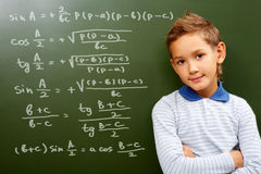 Young mathematic Stock Images