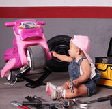 Young mechanic Royalty Free Stock Photo