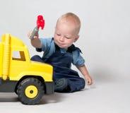 The young mechanic Stock Image