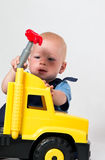The young mechanic Royalty Free Stock Photos