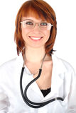 Young medic woman Royalty Free Stock Image