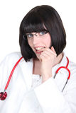 Young medical assistant Stock Photography