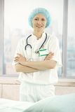 Young medical doctor in office Royalty Free Stock Photography